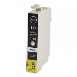 EPSON T0801 svart bläckpatron kompatibel