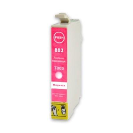 EPSON T0803 magenta bläckpatron kompatibel