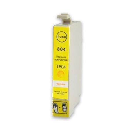 EPSON T0804 gul bläckpatron kompatibel