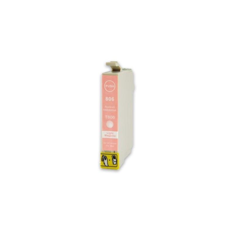 EPSON T0806 ljusmagenta bläckpatron kompatibel