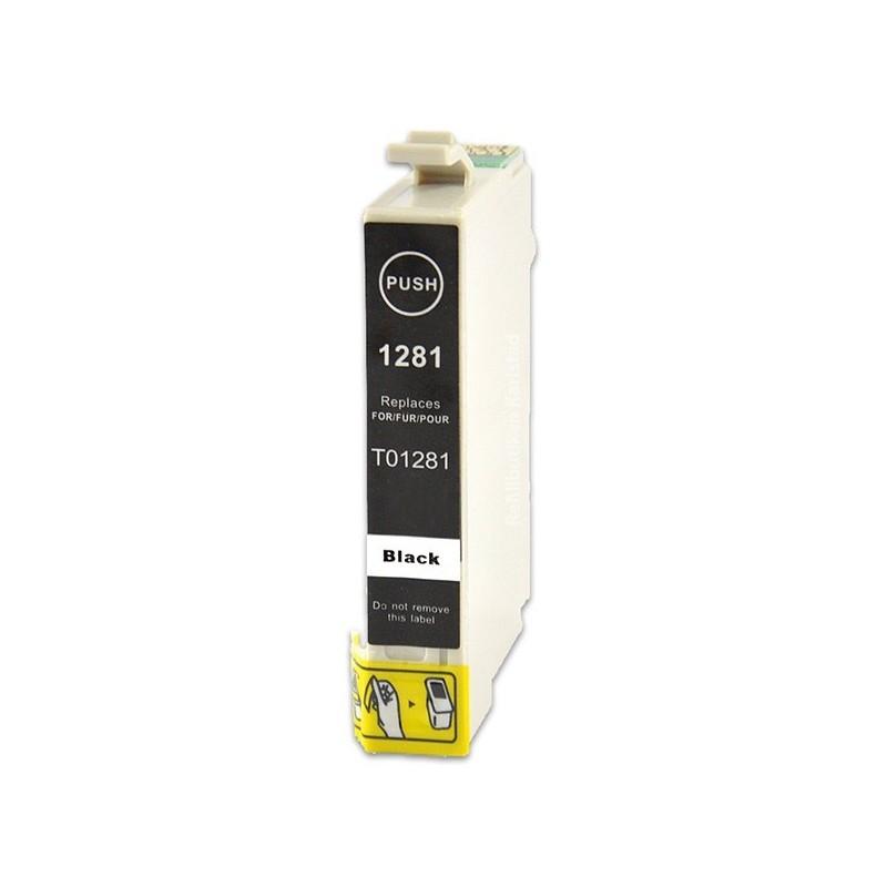 EPSON T1281 svart bläckpatron kompatibel