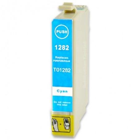 EPSON T1282 cyan bläckpatron kompatibel