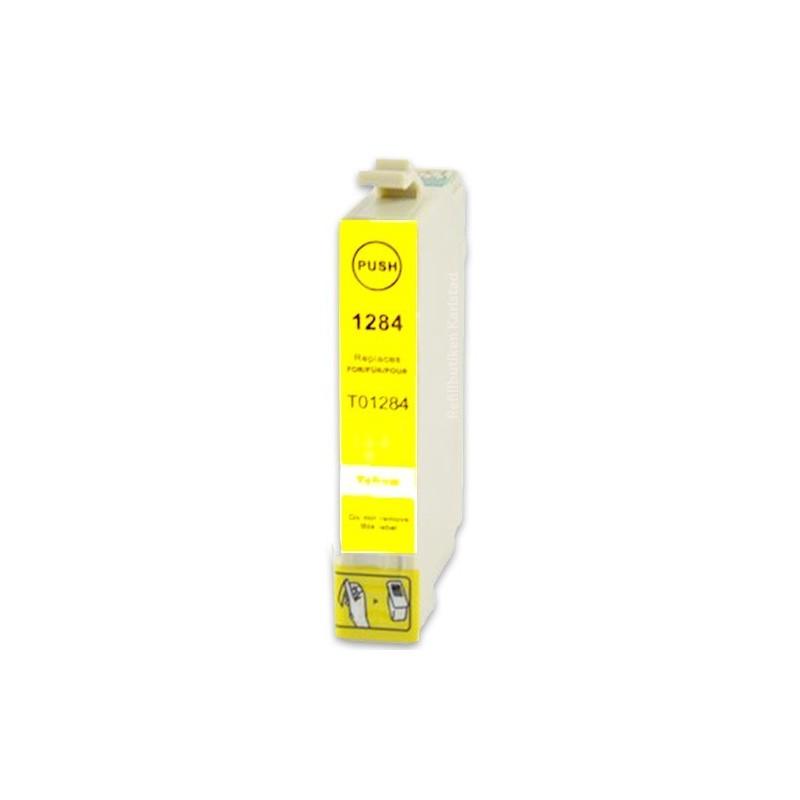 EPSON T1284 gul bläckpatron kompatibel