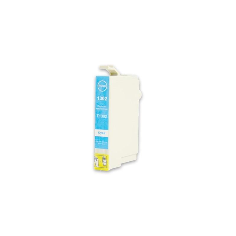 EPSON T1302 cyan bläckpatron kompatibel