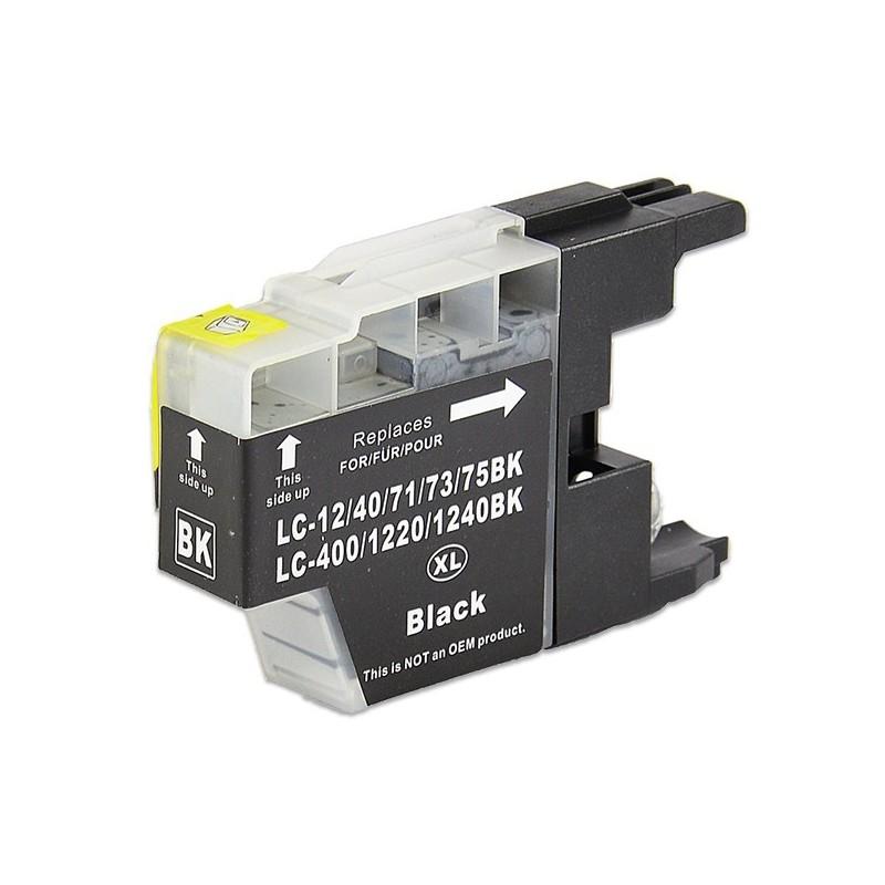 BROTHER LC1240 svart bläckpatron kompatibel