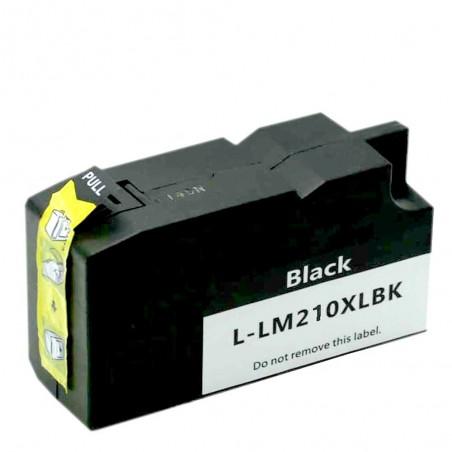 LEXMARK 200XL-210XL svart bläckpatron kompatibel