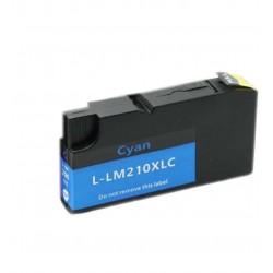 LEXMARK 200XL-210XL cyan bläckpatron kompatibel