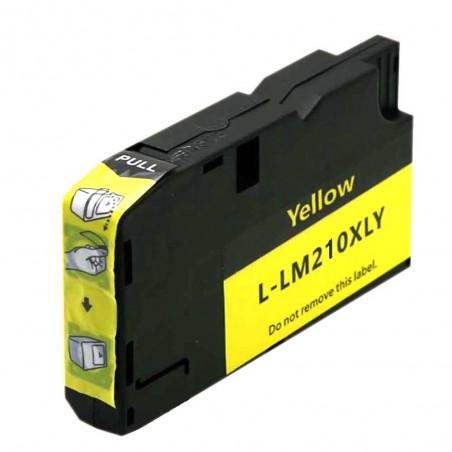 LEXMARK 200XL-210XL gul bläckpatron kompatibel