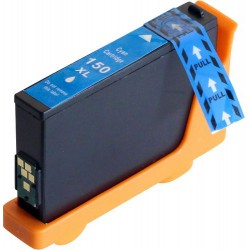 LEXMARK 150XL cyan bläckpatron kompatibel
