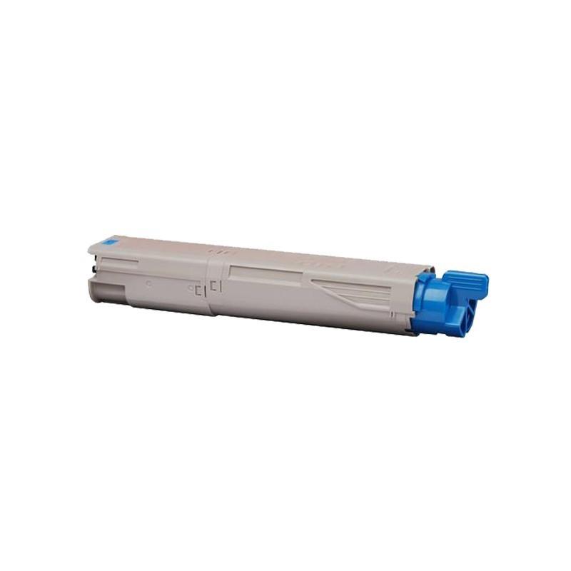 OKI 43459323 cyan lasertoner kompatibel