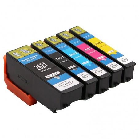 EPSON 26XL 5-pack bläckpatroner multipack kompatibla