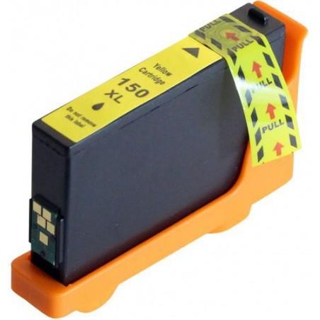 LEXMARK 150XL gul bläckpatron kompatibel