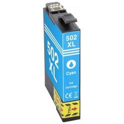 EPSON 502XL cyan bläckpatron kompatibel