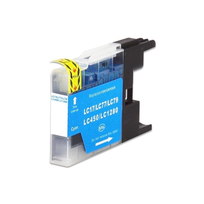 BROTHER LC1280XL cyan bläckpatron kompatibel