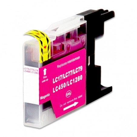 BROTHER LC1280XL magenta bläckpatron kompatibel