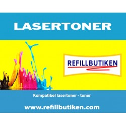 BROTHER TN900Y gul lasertoner kompatibel