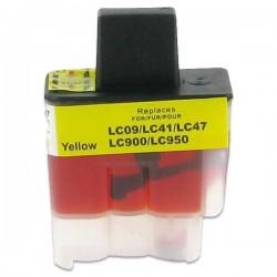 BROTHER LC900 gul bläckpatron kompatibel