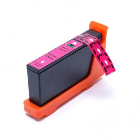 LEXMARK 100XL magenta bläckpatron kompatibel