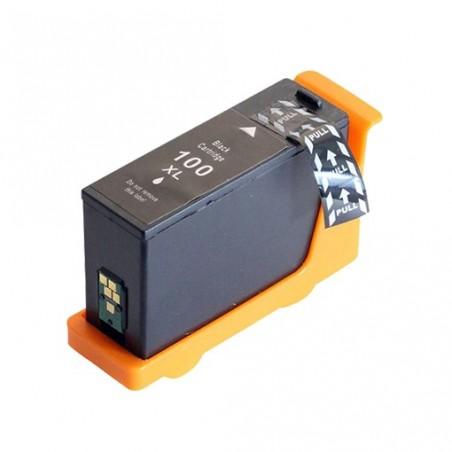 LEXMARK 100XL svart bläckpatron kompatibel