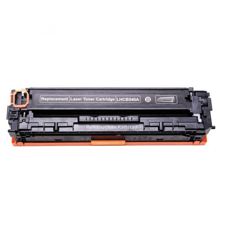 HP CB540A svart lasertoner kompatibel