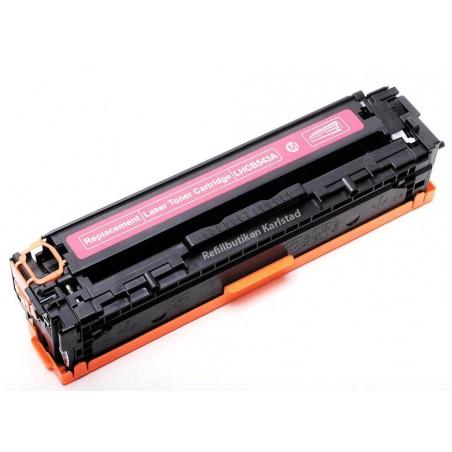 HP CB543A magenta lasertoner kompatibel