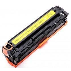 HP CB542A gul lasertoner kompatibel