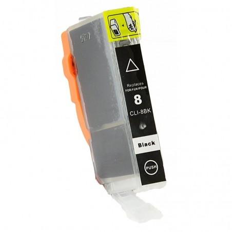 CANON CLI8 svart foto bläckpatron kompatibel