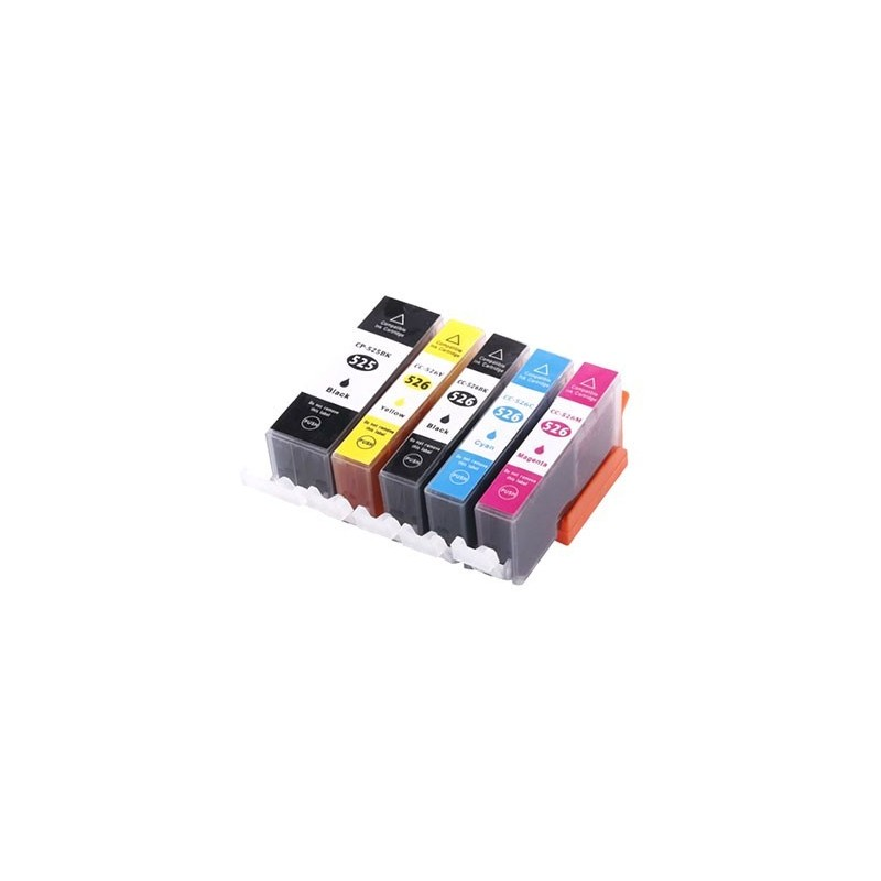 CANON CLI526 bläckpatroner multipack 5-pack kompatibla