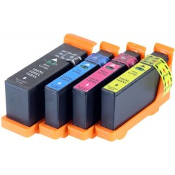LEXMARK 100XL bläckpatroner multipack 4-pack kompatibla