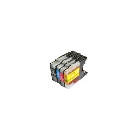 BROTHER LC1280XL bläckpatroner multipack 4-pack kompatibla