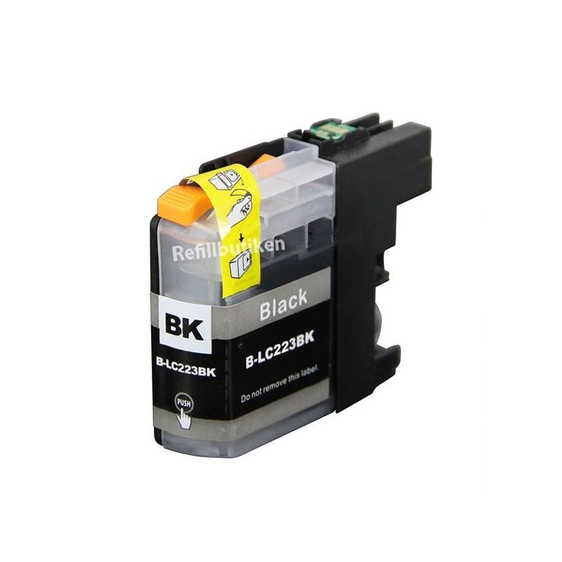 BROTHER LC223 svart bläckpatron kompatibel