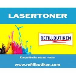 HP CE271A cyan lasertoner kompatibel