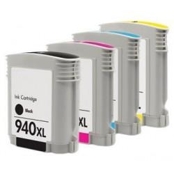 HP 940XL 4-pack bläckpatroner multipack kompatibla