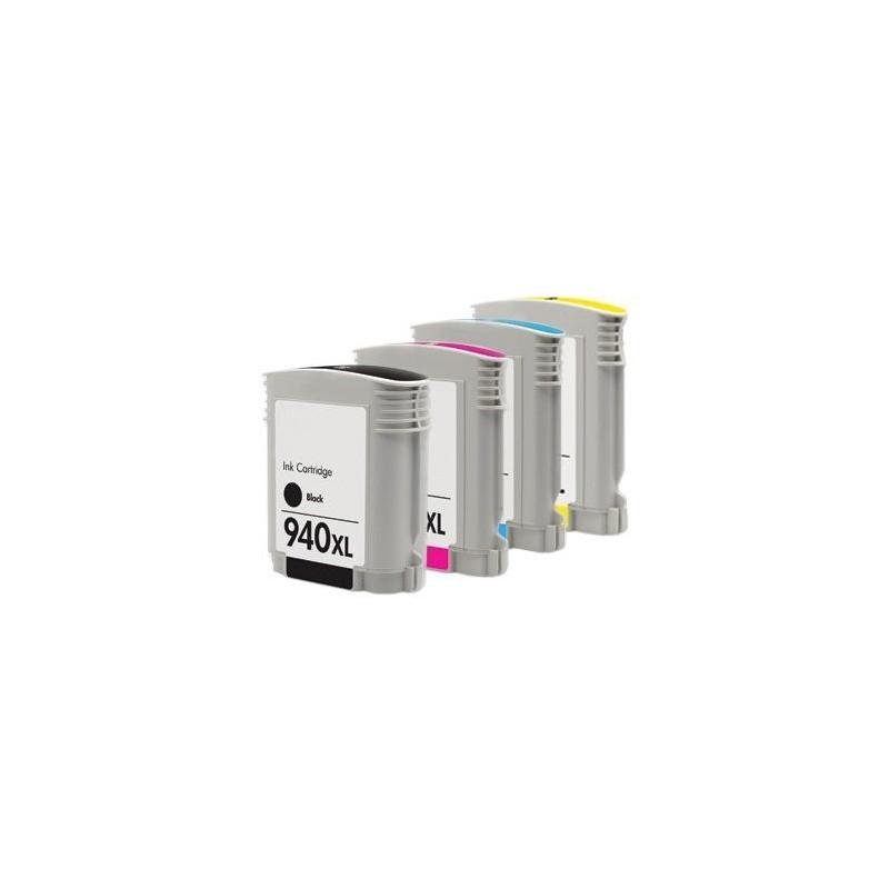 HP 940XL bläckpatroner multipack 4-pack kompatibla