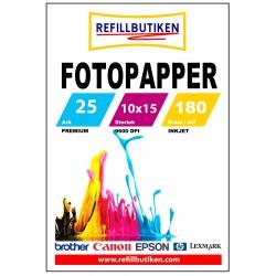 Fotopapper 10x15 100 Ark (varumärket Refillbutiken)