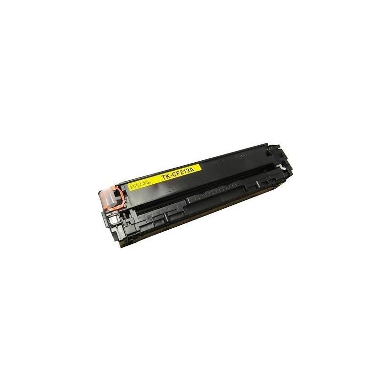 HP CF212A gul lasertoner kompatibel
