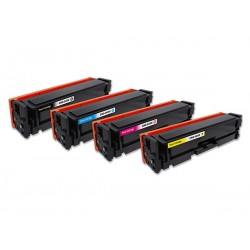 CANON 045H 4-pack lasertoner set kompatibla