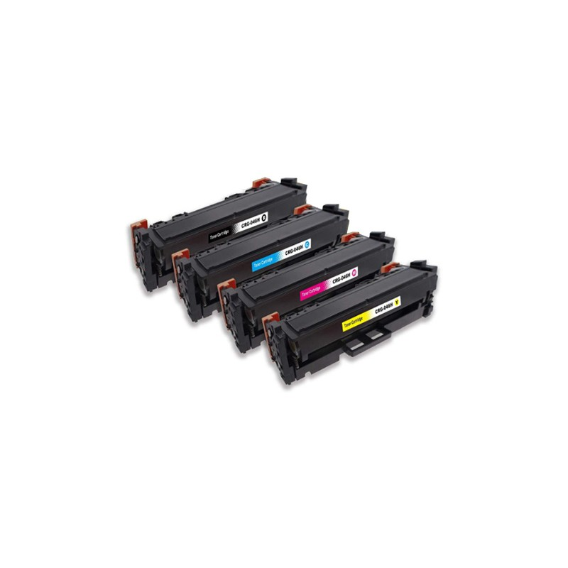 CANON CRG 046H 4-pack lasertoner set kompatibla