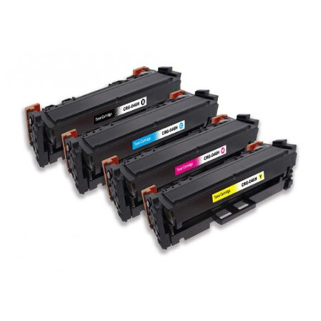 CANON 054H 4-pack lasertoner set kompatibla