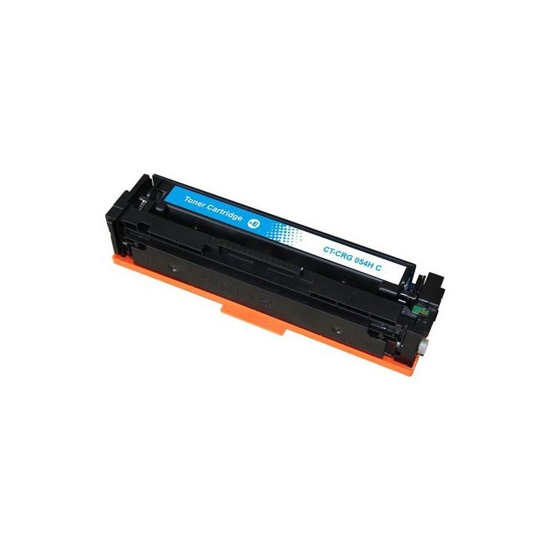 CANON 054H cyan lasertoner kompatibel