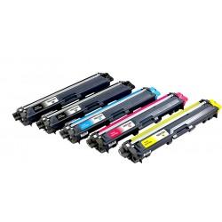 BROTHER TN241 TN245 5-pack lasertoner set kompatibla