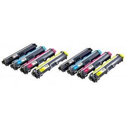 BROTHER TN241 TN245 8-pack lasertoner set kompatibla