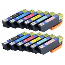 EPSON 24XL 12-pack bläckpatroner multipack kompatibla