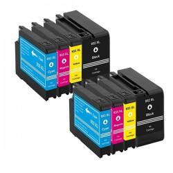 HP 932XL 933XL 8-pack bläckpatroner multipack kompatibla