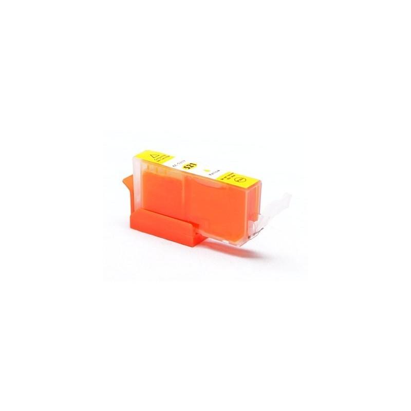 CANON CLI521 gul bläckpatron kompatibel