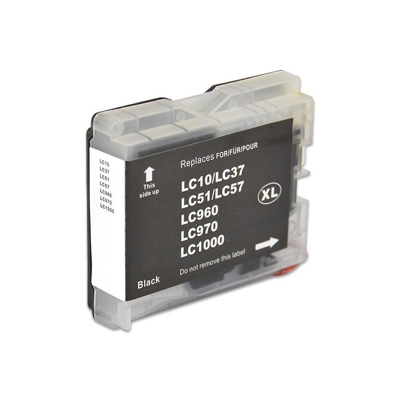BROTHER LC970-LC1000 svart bläckpatron kompatibel