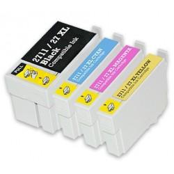 EPSON 27XL bläckpatroner multipack 4-pack kompatibla