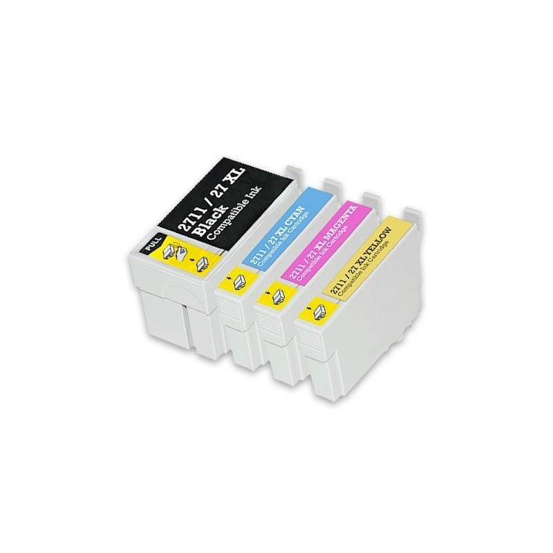 EPSON 27XL 4-pack bläckpatroner multipack kompatibla