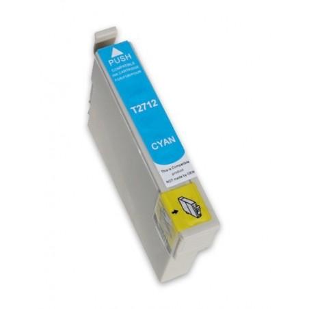 EPSON 27XL cyan bläckpatron kompatibel