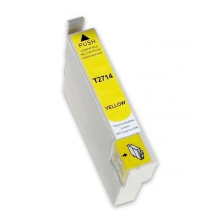 EPSON 27XL gul bläckpatron kompatibel